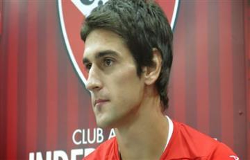 """Albertengo: """"Me gustaría seguir en Independiente"""""""