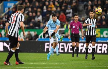 De la mano de Agüero, el City venció por la mínima al Newcastle por Premier League