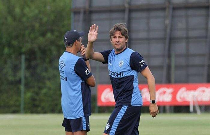 José Gabriel Heinze inicia su ciclo en Vélez. Foto: Twitter