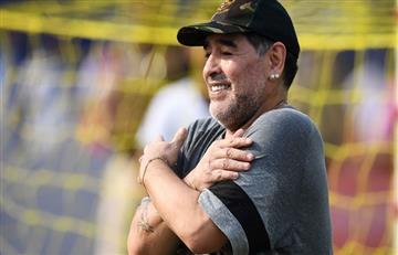 Diego Armando Maradona y su donación al Hospital Garrahan