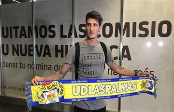 Gabriel Peñalba llegó a Las Palmas