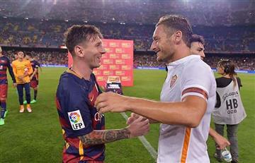 La divertida manera en la que Francesco Totti escogió entre Messi y Cristiano