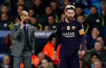 Pep Guardiola se rinde ante Lionel Messi