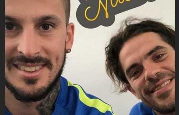 Benedetto y Gago no pierden ni un día en busca de regresar a las canchas lo más pronto posible (Foto: Instagram)