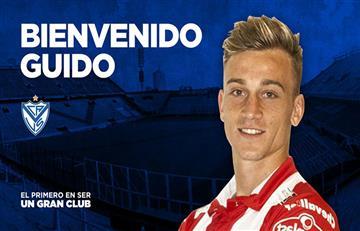 Guido Mainero llega a Vélez Sarsfield