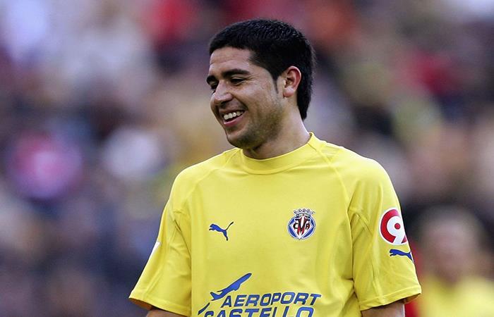 Juan Román Riquelme. Foto: AFP