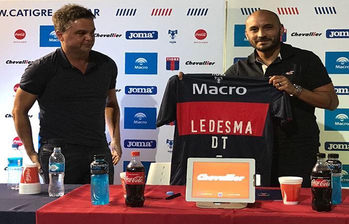 Cristian Ledesma es el nuevo DT de Tigre