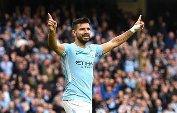 Sergio Agüero terminará su contrato en el Manchester City