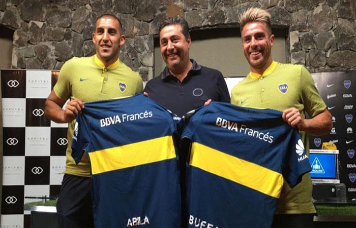 Angelici presentó a los nuevos refuerzos para Boca