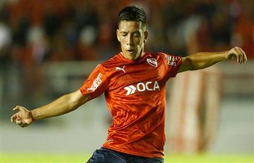 Ezequiel Barco no se presentó a los entrenamientos de Independiente