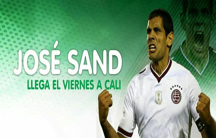 José Sand sí llegaría a Deportivo Cali después de todo. (Twitter)