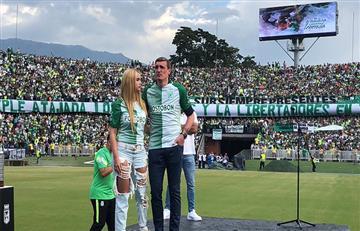 Atlético Nacional le rindió un emotivo homenaje de despedida a Franco Armani