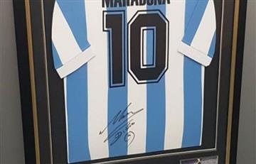 La FIFA sorteará una camiseta de Diego Maradona previo al Mundial de Rusia 2018