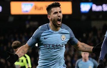 El City ganó con doblete de Agüero por la tercera ronda de la FA CUP