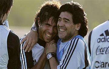 """Maradona: """"Tévez no traicionó a Boca"""""""