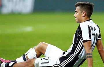 Paulo Dybala sufrió lesión y sale entre lágrimas de la cancha