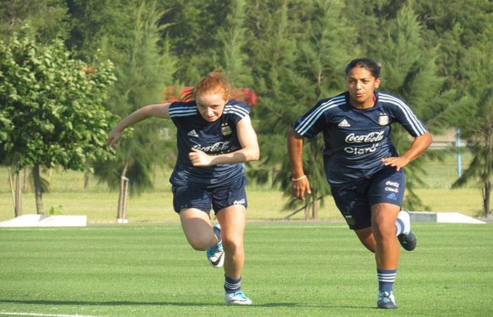 La Selección femenina de Argentina se prepara para el Sudamericano Sub-20