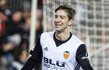 Luciano Vietto tuvo una noche de ensueño en la victoria del Valencia