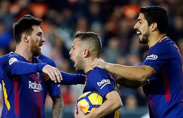 Barcelona aplastó 5-0 al Celta con dos goles de Lionel Messi por la Copa del Rey