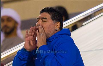 Diego Maradona critió al reemplazo de Berizzo en el Sevilla