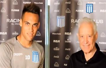 Racing renueva y sube la cláusula a Lautaro Martínez a 20 millones