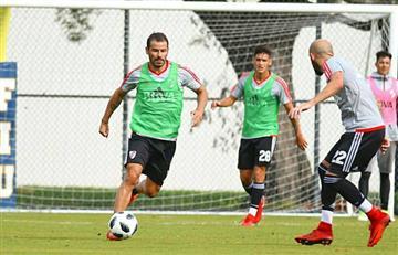 Rodrigo Mora vuelve a la actividad futbolística