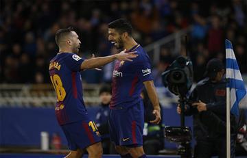 Barcelona de Lionel Messi derrotó 4-2 al Real Sociedad