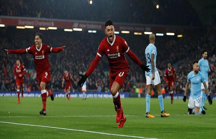 En un partido típico de Premier, el Liverpool derrotó al Manchester City con mucha emoción. (Facebook Premier League)