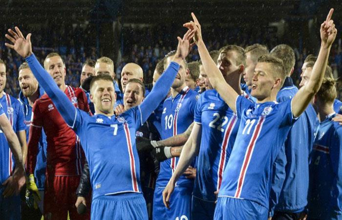 Selección de Islandia. (AFP)