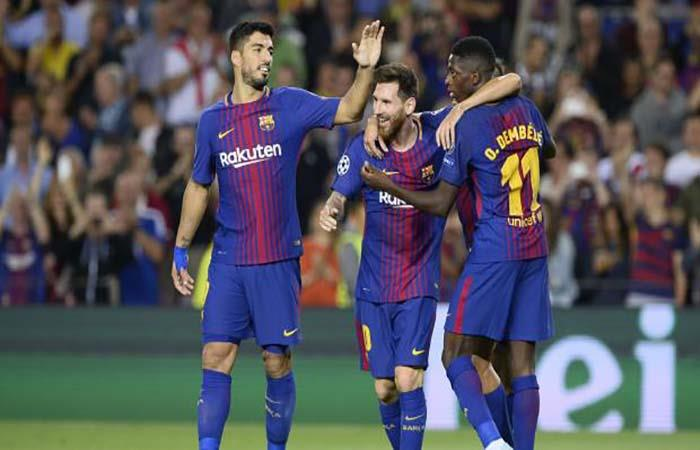 Crack del Barcelona estará un mes de baja. (AFP). Foto: AFP