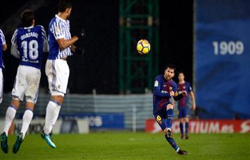 Lionel Messi y un nuevo récord