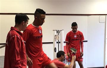 Lucas Barrios ya se entrena con Argentinos Juniors