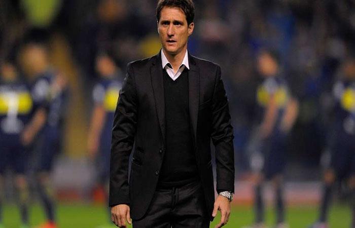 Guillermo Barros Schelotto, entrenador de Boca (AFP). Foto: AFP