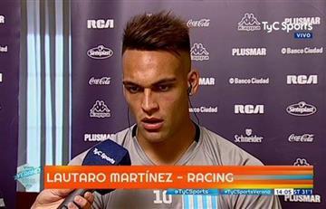 """Lautaro Martínez: """"Necesitábamos un jugador como Centurión"""""""