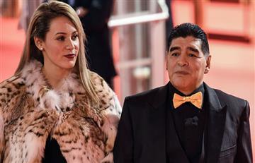 Maradona dice que solo irá a la boda de su hija si invitan a su mujer