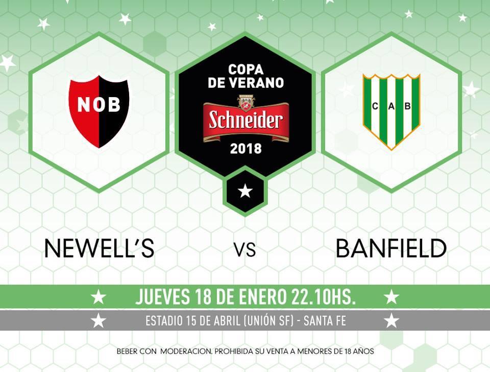 Newell's debutará en el Torneo de Verano 2018 frente a Banfield. (Facebook)