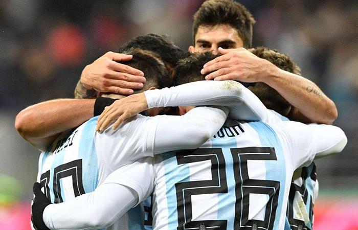 La Selección Argentina se mantiene en la posición 4 en el Ranking FIFA. Foto: Facebook