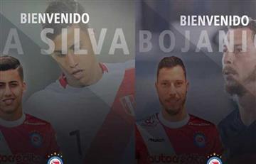 Argentinos Junior oficializó a sus dos nuevos refuerzos