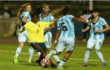 Argentina no pudo ante Colombia y perdió 3-1 por el Sudamericano Femenino Sub 20