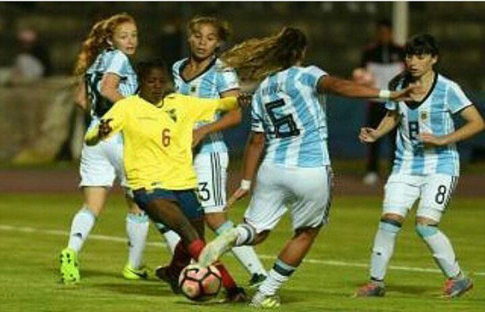 Argentina cayó ante Colombia por 3-1 (Foto: Twitter)