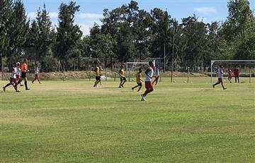 Argentinos Juniors aplastó a Comunicaciones en partido amistoso