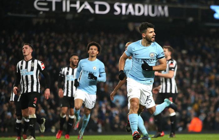 El City ganó 3-1 al Newcastle por la Premier League. Foto: Twitter