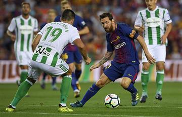 Las marcas que podría romper Messi este domingo frente al Betis