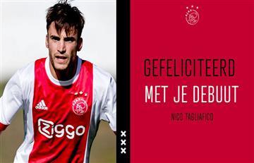 Ajax con Nicolás Tagliafico derrotó 2-0 al Feyenoord por la Eredivisie