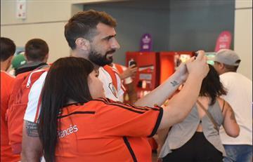El gesto de los jugadores de River Plate hacia sus hinchas