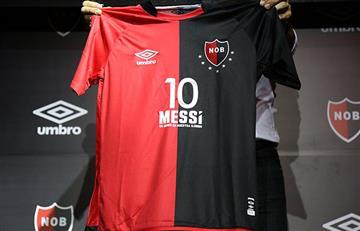 Newell's le regalará a Lionel Messi una camiseta especial