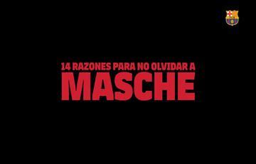 VIDEO: Las 14 razones por las que el Barcelona no olvidará a Javier Mascherano