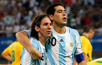 "Juan Román Riquelme: ""Con Messi podemos ser campeones del mundo"""