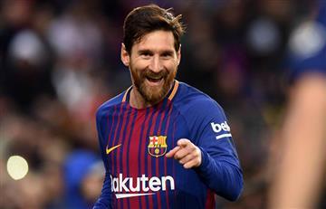 Lionel Messi consigue histórico récord con el Barcelona