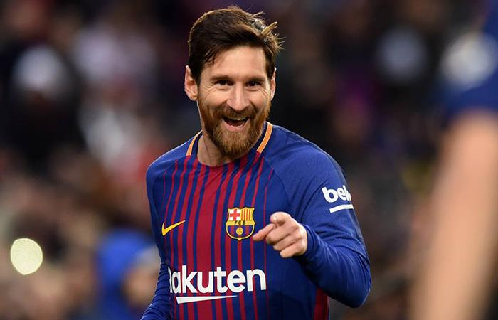 Lio marca un nuevo récord al anotarle al Espanyol (Foto: Facebook)